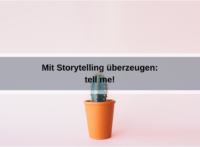 Tell me! Buchrezension zum Bestseller über Storytelling (wzyou2014 / pixabay)