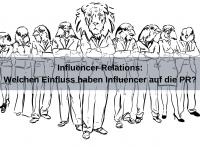 Welchen Einfluss haben Influencer Relations auf die klassische PR? (designwebjae / pixabay)