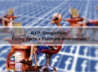 R.I.P. Google+: Funny Facts und Plattform-Alternativen (Alexas_Fotos / Pixabay)
