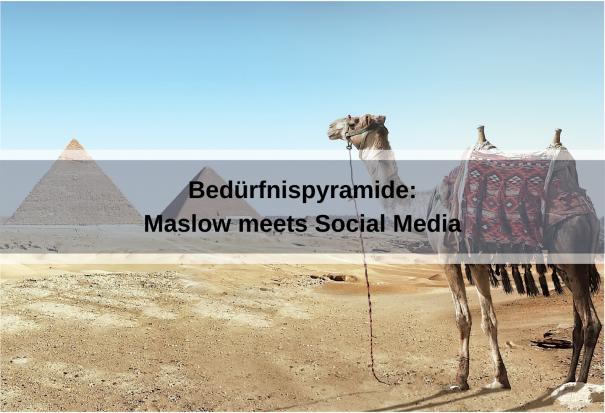 Bedürfnispyramide meets Social Media (8moments / pixabay)