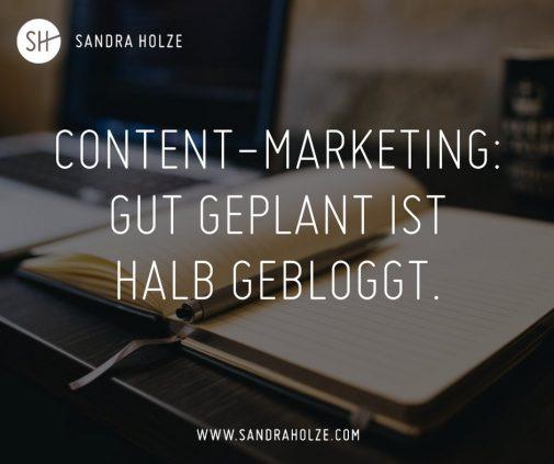 Redaktionsplan-Tools für Blogger und ihr Content-Marketing. (Sandra Holze / Twitter)
