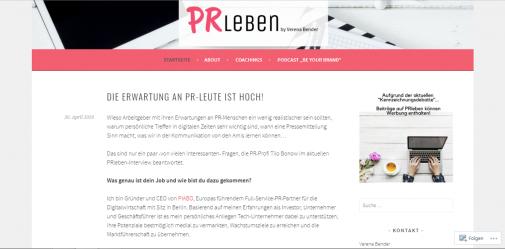 PR Stunt Blogroll - Handverlesene Empfehlungen