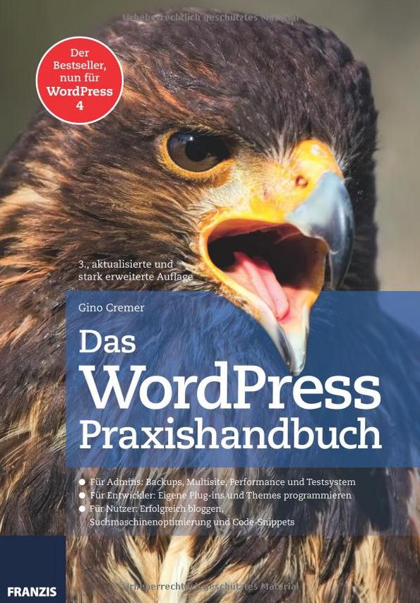 Buchrezension: Das WordPress Praxishandbuch