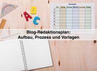 Ohne Redaktionsplan keine Content-Strategie - Redaktionsplan-Vorlagen für Blogger (darkmoon1968 / pixabay)