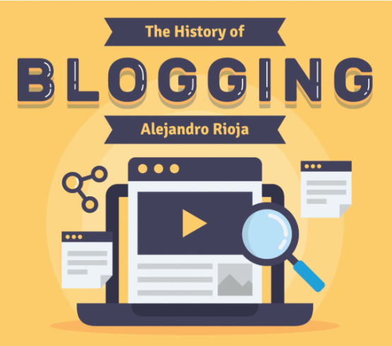 The Evolution and History of Blogging