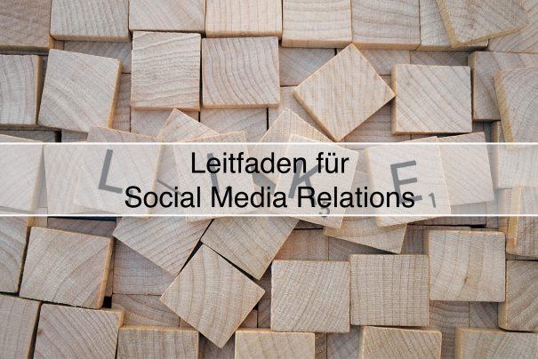 Leitfaden für erfolgreiche Social Media Relations und PR-Strategien