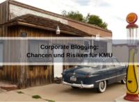 Corporate Blogging: Chancen und Risiken für KMU (LoggaWiggler / Pixabay)
