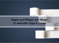 11 praxiserprobte Tipps und Tricks für die Blog-Pflege (lyperzyt / pixabay)