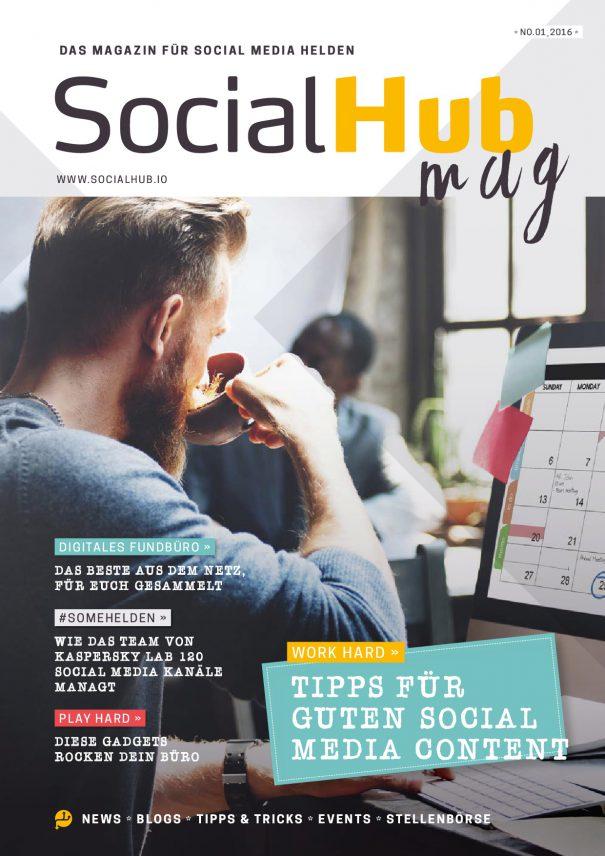 SocialHub Mag - jung, dynamisch und analog