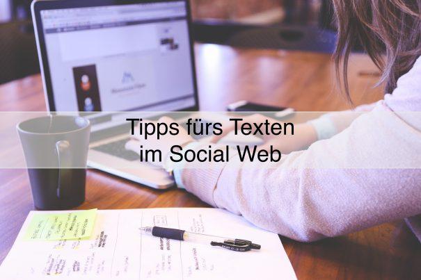 Texten fürs Social Web